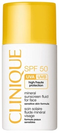 Clinique Mineral Sunscreen Fluid For Face SPF50 30ml