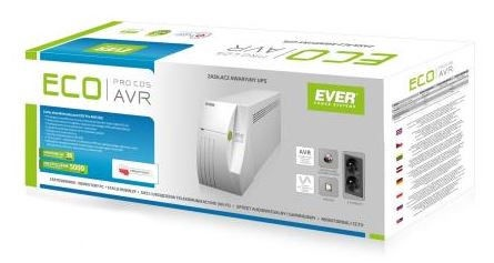 Everki UPS EVER ECO PRO 1000 AVR CDS