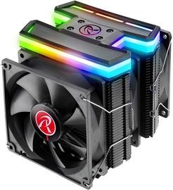 Raijintek Delos RBW Rainbow RGB CPU Cooler 3x92mm