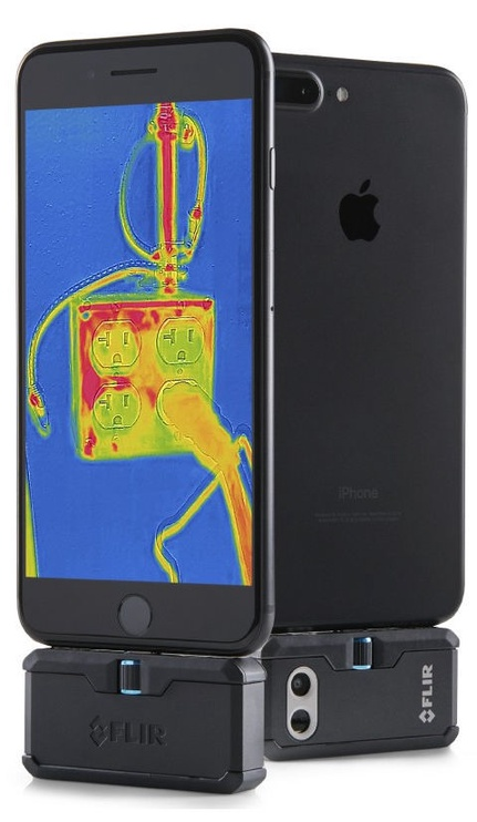 Flir One Pro LT iOS Professional Thermal Camera Black