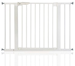 BabyDan Premier Safety Gate + 2 Ext White