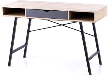 Homede Kayl Desk Maple/Black