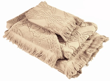 Ardenza Blossom Terry Towels Set 3pcs Beige