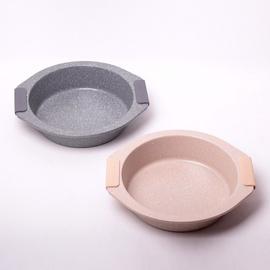 Форма для выпечки Kamille Baking Dish, серый/кремовый, 2 шт.