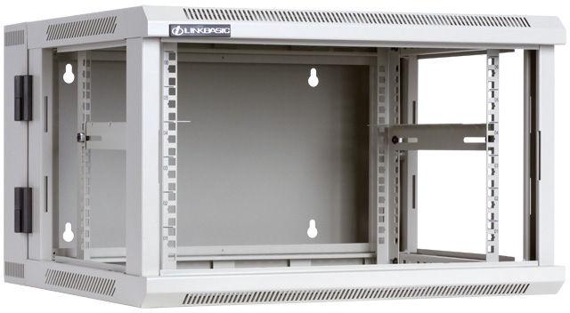 "LinkBasic Two-Section Hanging Cabinet 19"" 6U WCC06-655-BAB-C"