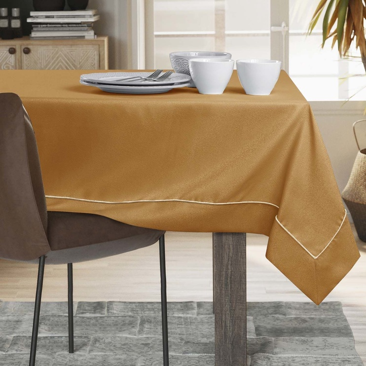 AmeliaHome Empire Tablecloth PPG Gold 120x180cm