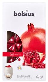 Свеча Bolsius True Scents Pomegranate, 6 шт.