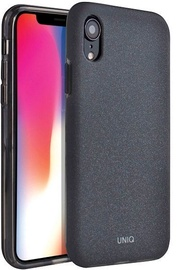 Uniq Lithos Back Case For Apple iPhone XR Black