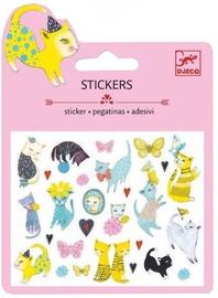 Djeco Cats Glitter Mini Stickers DJ09775