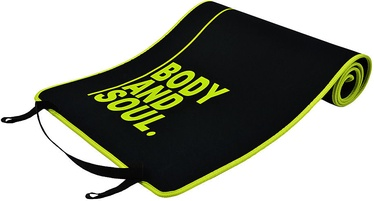 PROfit Exercise Mat Body and Soul 180x60x0.6cm Black
