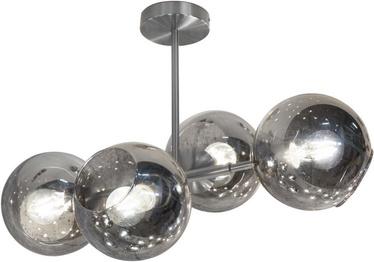 Nino Pilar Ceiling Lamp Silver 4x40W E27 61240402