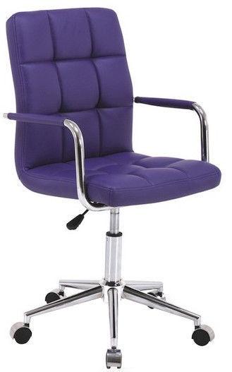 Biroja krēsls Signal Meble Rotary Q-022 Violet