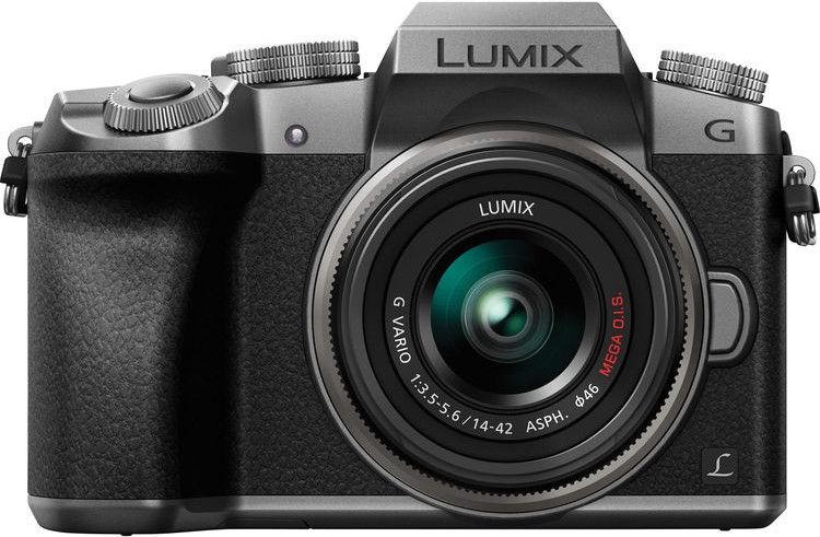 2308a835b0c Panasonic Lumix DMC-G7 LUMIX G VARIO 14-42mm f/3.5-5.6 II ASPH. Mega O.I.S.  Silver