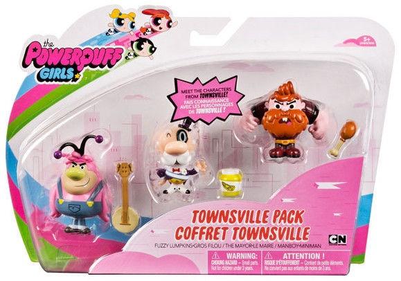 Фигурка-игрушка Spin Master Powerpuff Girls Townsville Pack 3pcs 6034211