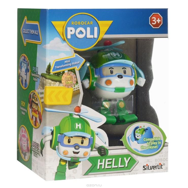 "Mänuauto-Robot ""HELLY ROBOCAR POLI 83048"""