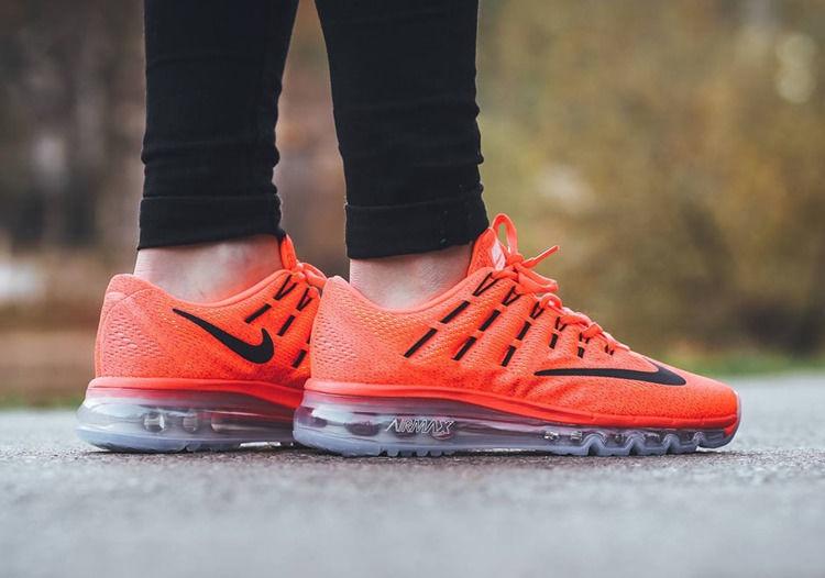 Nike Running Shoes Air Max 2016 806772-800 Orange 36