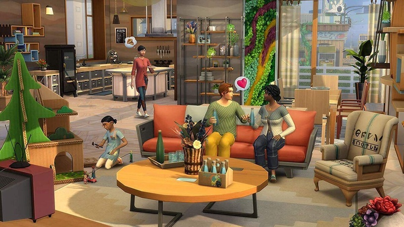 The Sims 4: Get To Work Expansion Multilingual