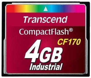 Transcend 4GB Compact Flash High Speed CF170 MLC Industrial