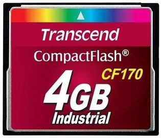 Transcend 4GB Compact Flash High Speed CF170 MLC Industrial