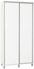 Bodzio Sliding Wardrobe 100cm White