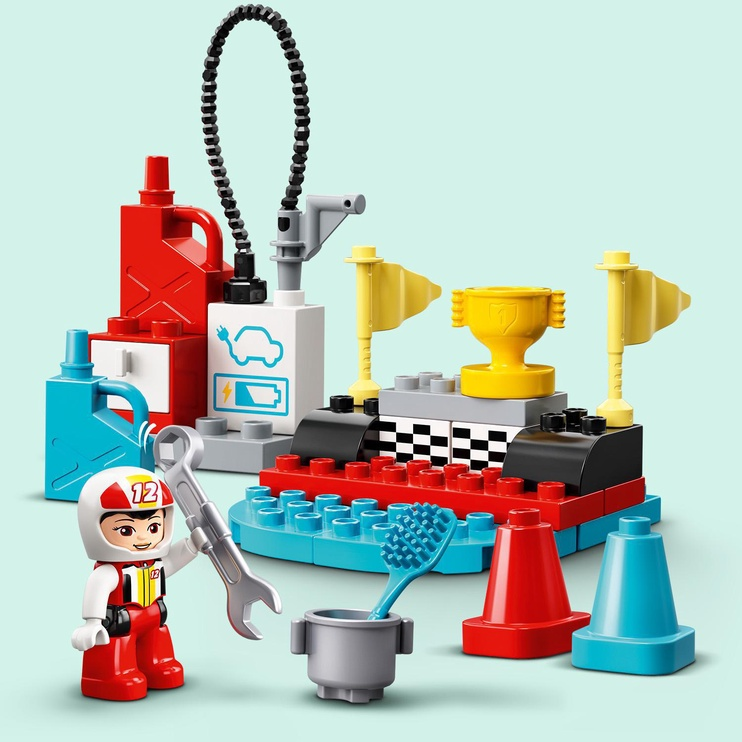 Конструктор LEGO Duplo Гоночные машины 10947, 44 шт.