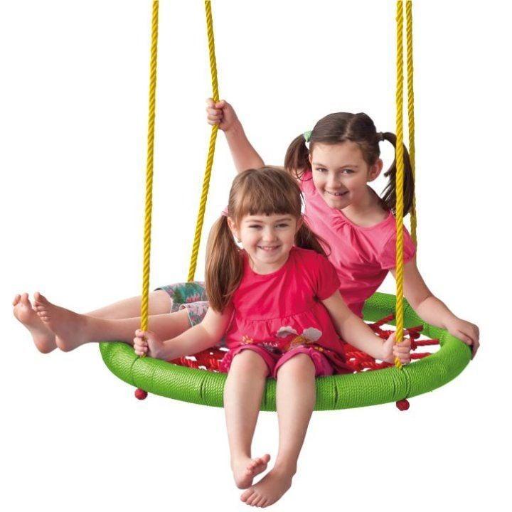 Šūpoles WOODY Round Swing Big, daudzkrāsains