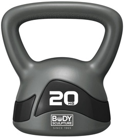 Body Sculpture Kettlebell BW117 20kg Grey/Black