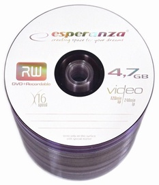 Esperanza 1107 DVD+R 16x 4.7GB Spindle 100 DVD's