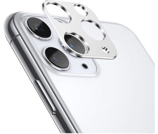 TakeMe Aluminum Camera Cover For Apple iPhone 11 Silver