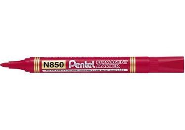 Marker N850 ümar punane 4,2mm Pentel