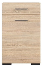 Black Red White Fever Chest Of Drawer Sonoma Oak