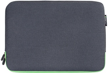 Gecko Covers Universa Zipper Sleeve For Laptop 11-12'' Grey/Green
