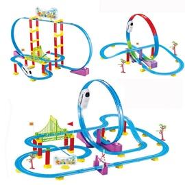 Žaislinis traukinys su bėgiais Track Racer Train Set 608021497