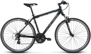 """Kross Evado 2.0 XL 28"""" Black Blue Glossy 20"""