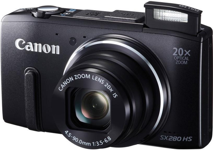 Canon PowerShot SX280 HS Digital Camera Black