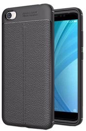 Hurtel Litchi Pattern Back Case For Xiaomi Redmi 5A Black