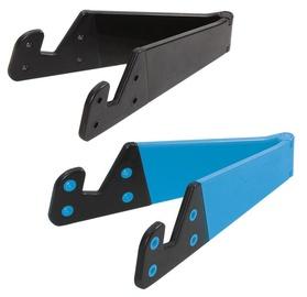 LogiLink Foldable Smartphone and Tablet Stand Black Blue 2pcs