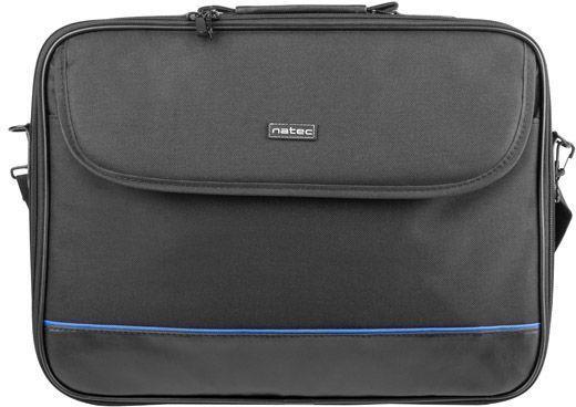 """Natec Impala Shoulder Bag 14.1"""" Black/Blue"""