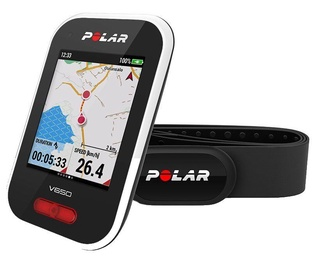 Polar V650 Bike Computer + Polar H10 Heart Rate Monitor White