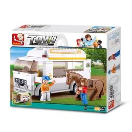 Konstruktor Sluban Town, Loomade veoauto