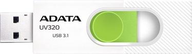 A-Data UV320 64GB USB3.1 White/Green