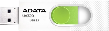 Adata UV320 64GB USB3.1 White/Green