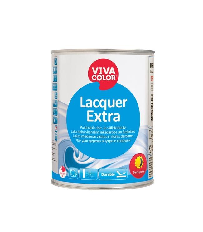 Lakas Vivacolor Lacquer Extra, EP bazė, pusiau blizgus, 0.9 l