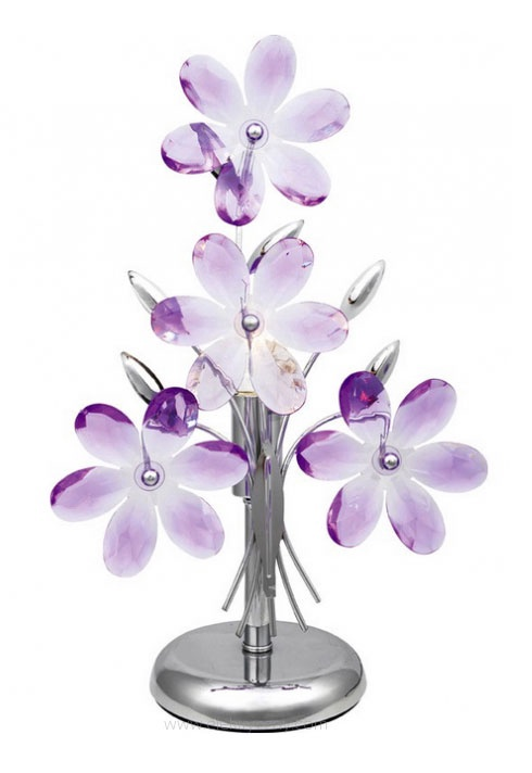 Galda lampa Globo 5146 Flower 40W E14