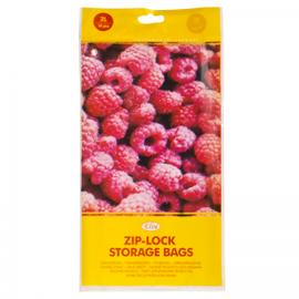 Pārtikas uzglabāšanas maisiņi ZIP-LOCK, 2L, 10 gab