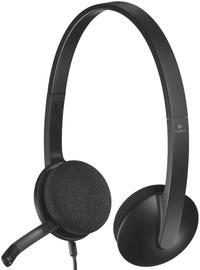 Ausinės Logitech H340 Black