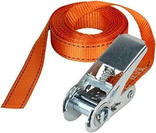 MasterLock Fast Ratchet Strap 25mm 5m Orange