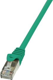 LogiLink Patch Cable Cat.6 F/UTP EconLine 0.25m Green