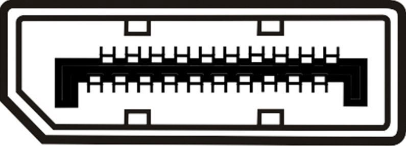 Assmann Cable Displayport-mini / Displayport White 1m