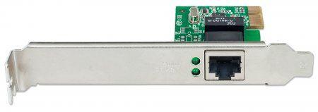 Intellinet Network Card PCI Express 10/100/1000 Gigabit RJ45
